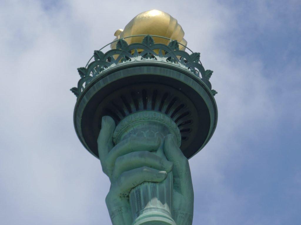 Antorcha Estatua de la Libertad