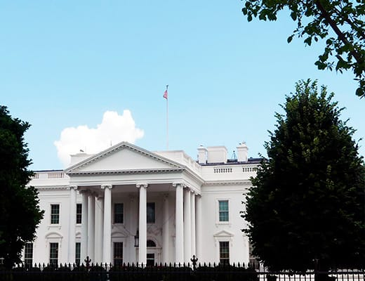 La Casa Blanca, Presidente de Estados Unidos, Washington