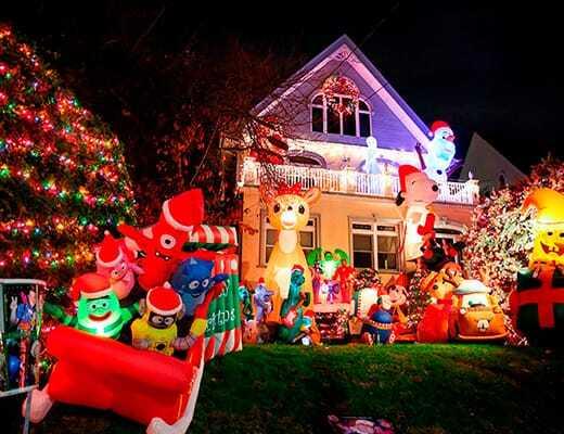Navidad en Nueva York Dyker Heights