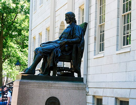 Estatua de Harvard