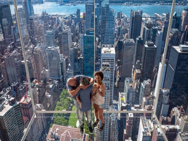Se observa el Mirador The Summit en Nueva York