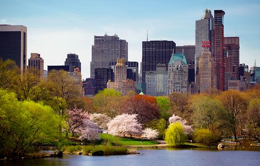 Ejemplo del Tiempo en Nueva York: Verano