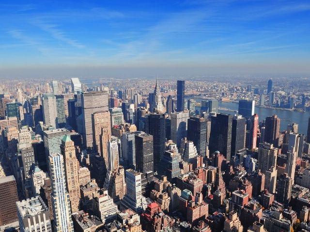 Se observan Rascacielos como el Summit One Vanderbilt en Nueva York