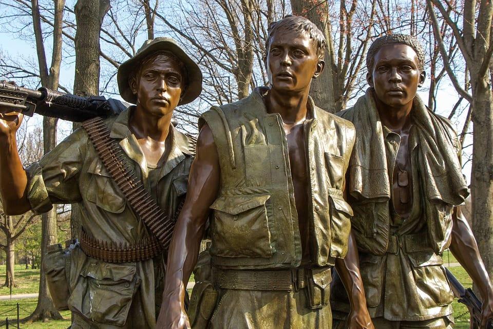Monumento a los soldados de Vietnam